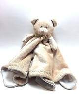 Blankets & Beyond Brown Teddy Bear Security Blanket Lovey Fleece - $46.88 CAD