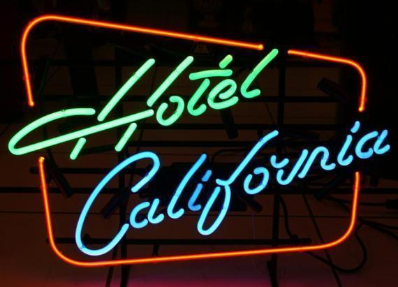 "New Hotel California Music Bar Pub Beer Neon Sign 24""x20"" Ship From USA"