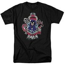 Simply Superheroes Mens raven teen titans go t shirt Mens Regular 5XL - $33.99