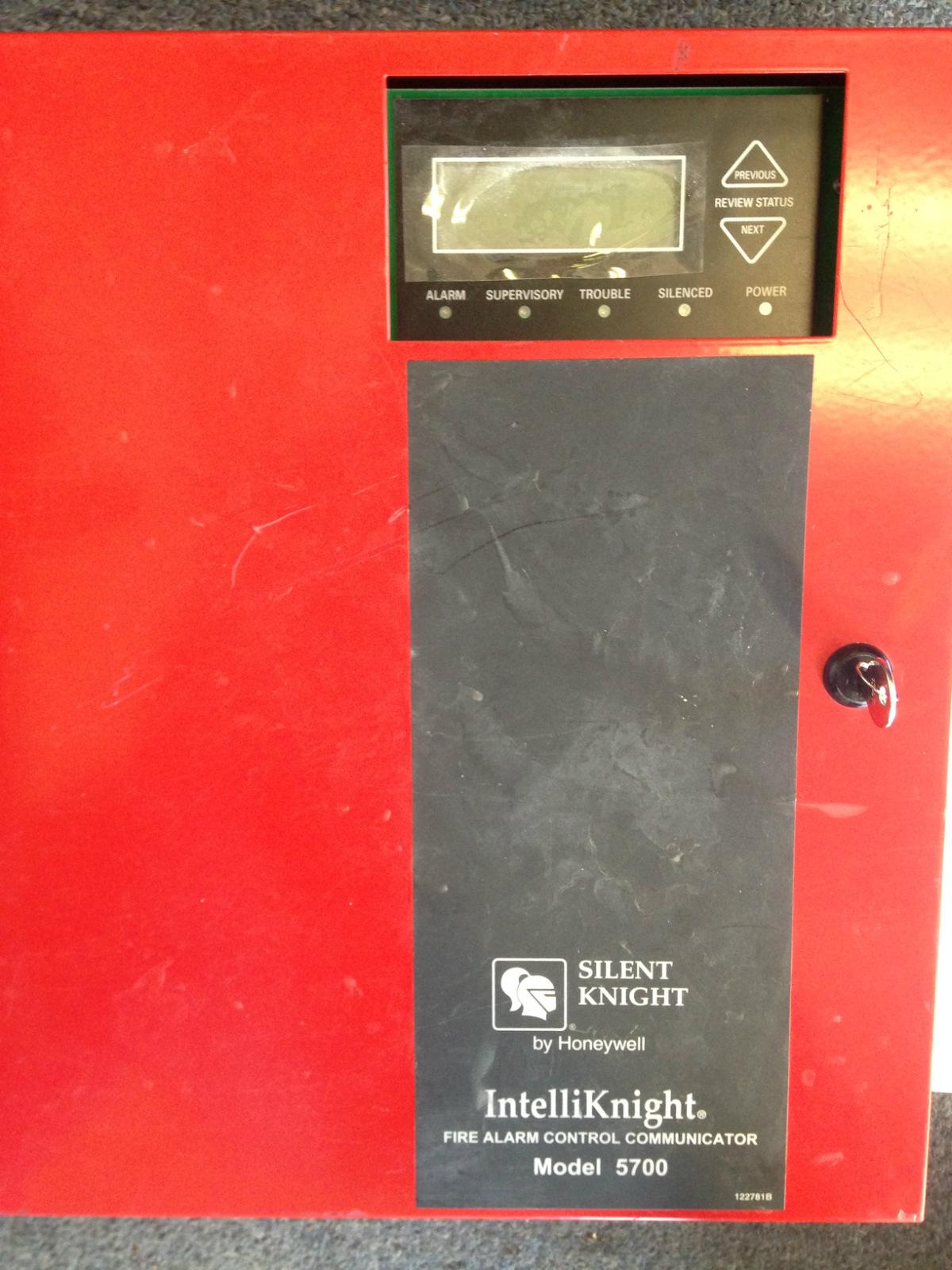 Silent Knight Intelliknight Honeywell 5700 Fire Alarm