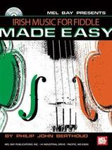 Irish Music For Fiddle Made Easy/Book/CD Set - $13.99