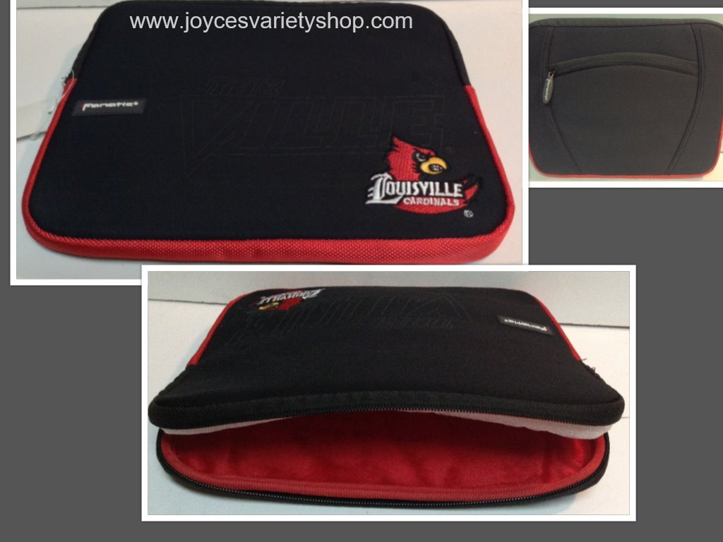 Louisville cardinals tablet case collage