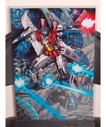 Transformers G1 Starscream Glossy Art Print 11 x 17 In Hard Plastic Sleeve - $24.99