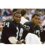 Bo Jackson Marcus Allen Oakland Raiders SAS Vintage 8X10 Color Football... - $6.99