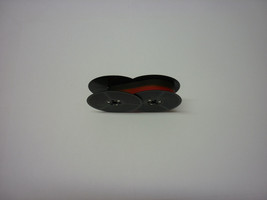 Omega 30 Typewriter Ribbon Black and Red Twin Spool