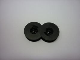 Antares Compact 23 28 29 326 350 8000 Typewriter Ribbon Black Twin Spool 2 Pack