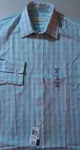 NEW MICHAEL KORS Light ALOE Plaid Dress Shirt SIZE 15.5 32/33 NEW Mens F... - €25,24 EUR
