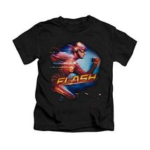 Simply Superheroes boys the flash tv show fastest man alive kids t shirt Size... - $19.99