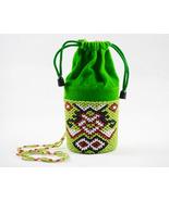 Handmade beaded Pouch/Tribe tibetan style - $17.00