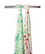 2-Pk Baby Unisex Colorful Baby Swaddling Muslin Blankets - Spring Flower... - €39,85 EUR