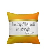 The Joy of the Lord is my strength pillow colle... - $62.33