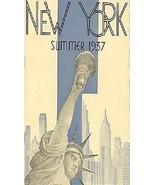 1937 New York Summer Festival Magnet - $7.99