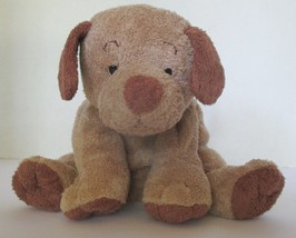 "Ty Pluffies Puppers Brown Dog 9"" Plush Stuffed Beanie Beanbag 2003  #2 - $23.83"