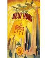 "New York ""The Wonder City"" Magnet - $7.99"