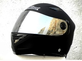 Masei 830 Matt Black Motorcycle Helmet image 3