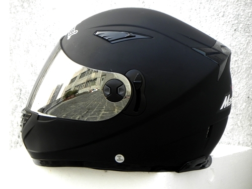 Masei 830 Matt Black Motorcycle Helmet image 5