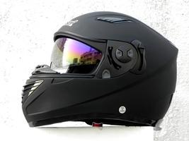 Masei 830 Matt Black Motorcycle Helmet image 6