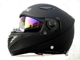 Masei 830 Matt Black Motorcycle Helmet image 7
