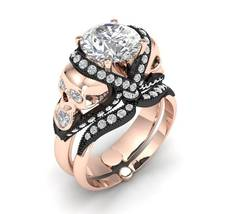 Skull Engagement Ring Temple of the Ancient Dra... - $2,995.00