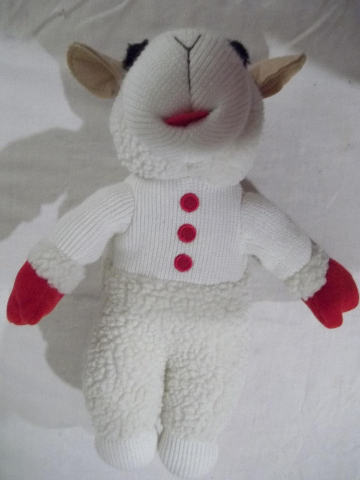 "12"" Lambchop Plush-People Pals-Aurora World Inc. - Vintage/Collectible Like New"