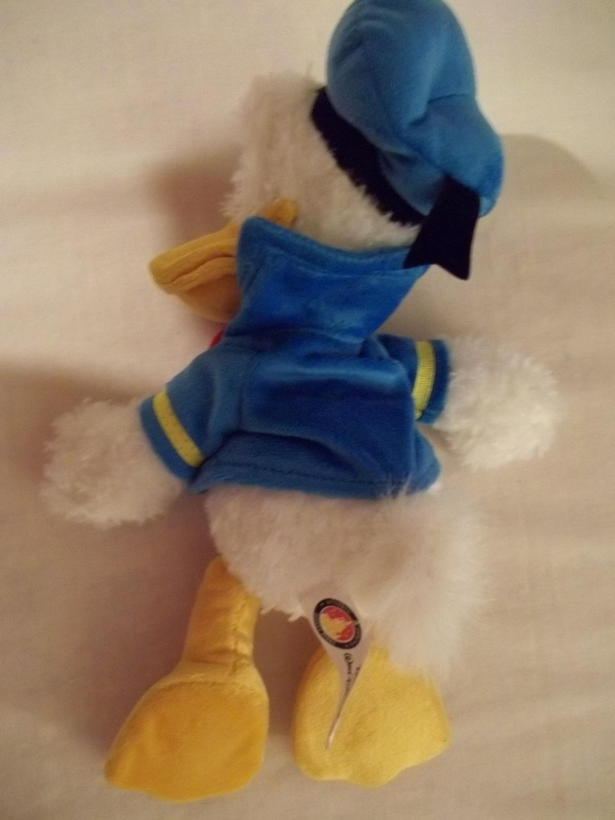 "11"" Sailor Donald Duck Plush - Disneyland/Walt Disney World-Pre-Owned"