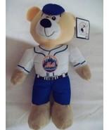 "12"" Mets Plush Bear Player - Good Stuff -Licensed 2014 - $9.99"