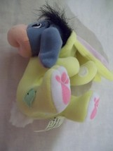 "5"" Fisher Price Walt Disney Basket Hugger Eeyore Plush - Yellow Outfit -... - $6.99"