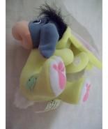 """5"""" Fisher Price Walt Disney Basket Hugger Eeyore Plush - Yellow Outfit -... - $6.99"""