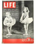 LIFE Magazine VTG July 26 1948 Ballet Truman Czech Satchel Paige Chicago... - $26.61