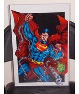 DC Superman Breaking Free Glossy Print 11 x 17 ... - $24.99