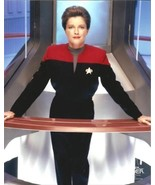 Kate Mulgrew as Captain Janeway from Star Trek: Voyager in uniform stand... - $8.99