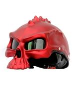 Masei 489 Matt Red Skull Chopper Motorcycle Helmet - $499.00