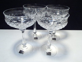 4 Mikasa Chateau Saucer Champagne / Sherbets~~ with labels~~ Germany - $44.95