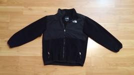 Boys North Face Fleece Jacket Black Size: L - $37.39
