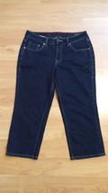 Women's Jag Jeans Crop Capri Blue Petite Size: 8P - $23.36