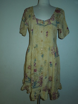 Jams World Hawaiian Floral Summer Dress Size M - $30.00