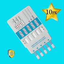 10 Pack 10 Panel Drug Testing Unit - Test for TEN Drugs - Test at Home or Work - $36.78