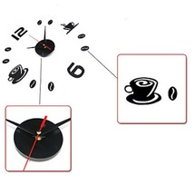 High Quality Creative Fashion Acrylic DIY Fun Battery Digital Clock image 4