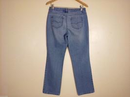 Sonoma Life + Styles Women's Size 10 Denim Jeans Straight Leg Medium Blue Wash image 2