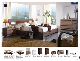 ESF 112 Bedroom Set King Bed Modern Contemporary Made in Spain