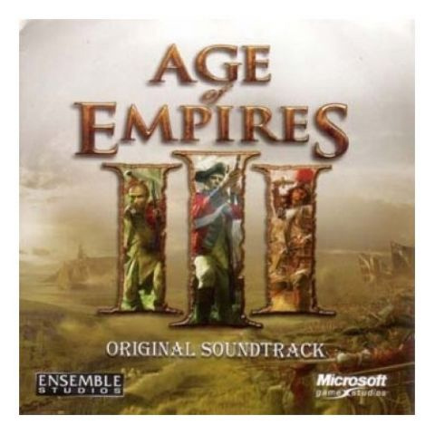 Primary image for Age of Empires III Original Video Game CD (Soundtrack) *NEW*