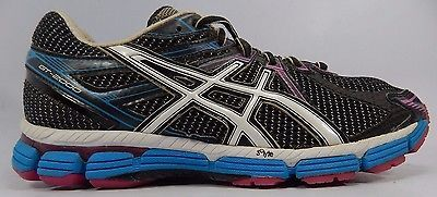 Asics GT 2000 Women's Running Shoes Size US 9 M (B) EU 40.5 Black White T2K7N