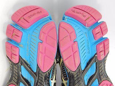 Asics GT 2000 Women's Running Shoes Size US 9 M (B) EU 40.5 Black White T2K7N