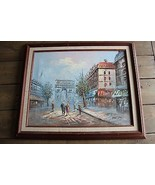 Vintage Rare Carolyn Burnett Painting Framed - $198.00