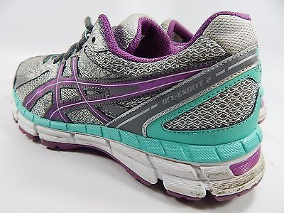 Asics Gel Excite 2 Women's Running Shoes Size US 9 M (B) EU 40.5 Silver T473Q