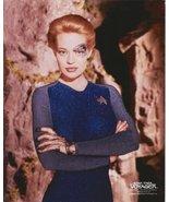 Jeri Ryan as Seven of Nine in Star Trek: Voyager with arms crossed in fr... - $8.99