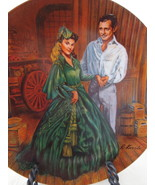 Collector Plate, Gone with the Wind - Scarlett's Green Dress, Knowles China - $30.00