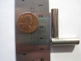 VINTAGE RAW STEEL - 24mm x 6mm Tube Spacer Bead - 6 Beads - $11.87