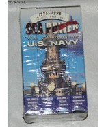 Sea Power the Story of the U. S. Navy - 4 Videos - $15.00