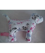 "7"" White I Love French Kissing Victoria's Secret Dog  - $8.99"